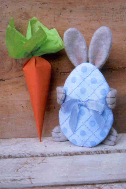 Gramma scuffys craft patterns 7 12 easter bunny carrot gift box template negle Images